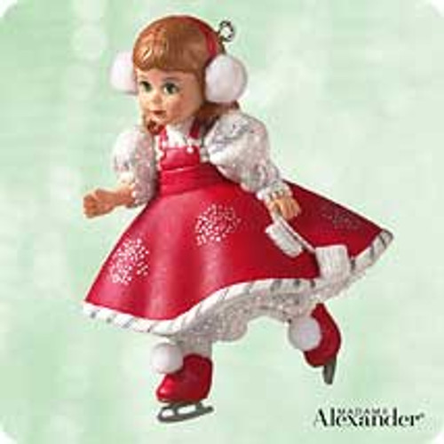 2003 Madame Alexander #8 - Snowflake Skater Hallmark ornament