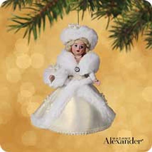 2002 Madame Alexander #7 - Winter Wonderland Hallmark ornament