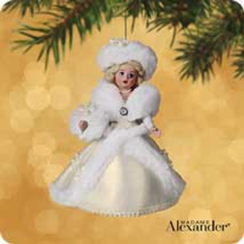 2002 Madame Alexander #7 - Winter Wonderland Hallmark ornament