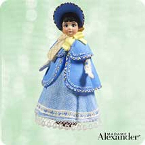 2003 Madame Alexander - Little Women #3 - Beth Hallmark ornament