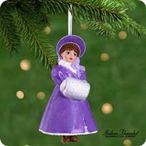 2001 Madame Alexander - Little Women #1 - Meg Hallmark ornament