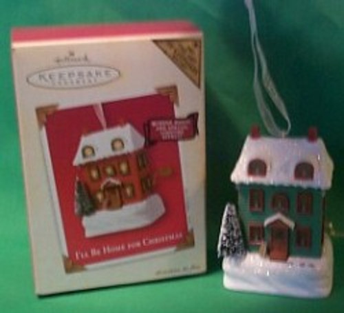 2003 I'll Be Home For Christmas - Colorway Hallmark ornament