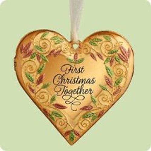 2004 1st Christmas Together - Photo Hallmark ornament