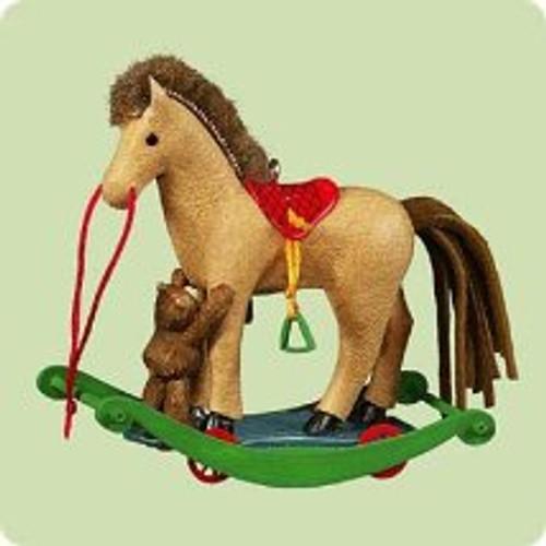 2004 A Pony For Christmas #7 Hallmark ornament