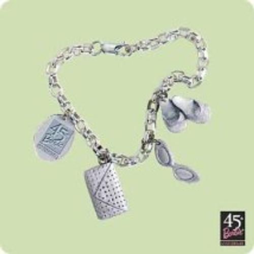 2004 Barbie - Bracelet Hallmark ornament