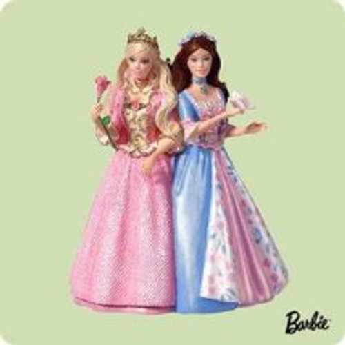 2004 Barbie - Princess Pauper Hallmark ornament