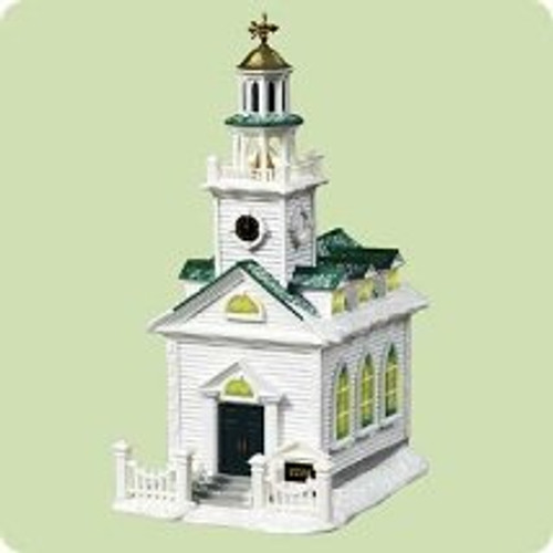 2004 Candlelight Services #7 - Colonial Church Hallmark ornament