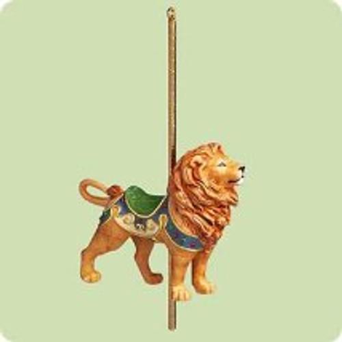 2004 Carousel Ride #1 - Majestic Lion Hallmark ornament