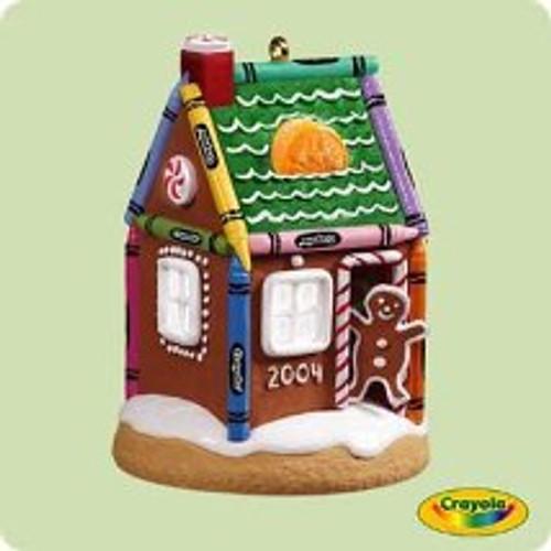 2004 Crayola - Gingerbread Hallmark ornament
