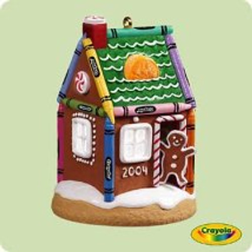 2004 Crayola - Gingerbread Hallmark ornament