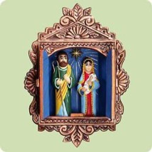 2004 Cuando El Nacio Hallmark ornament
