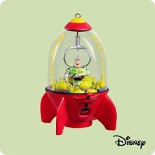 2004 Disney - Buzz Lightyear Hallmark ornament