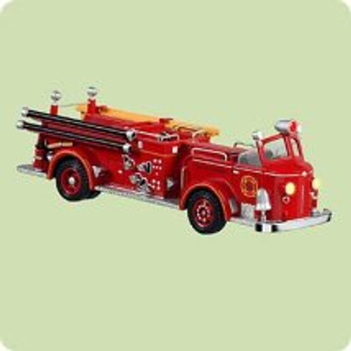 2004 Fire Brigade #2 - Am. Lafrance Hallmark ornament