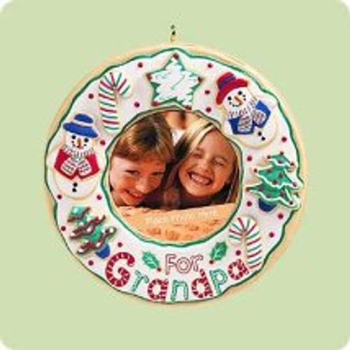 2004 For Grandpa Hallmark ornament