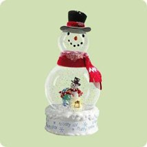 2004 Frosty Fun Hallmark ornament