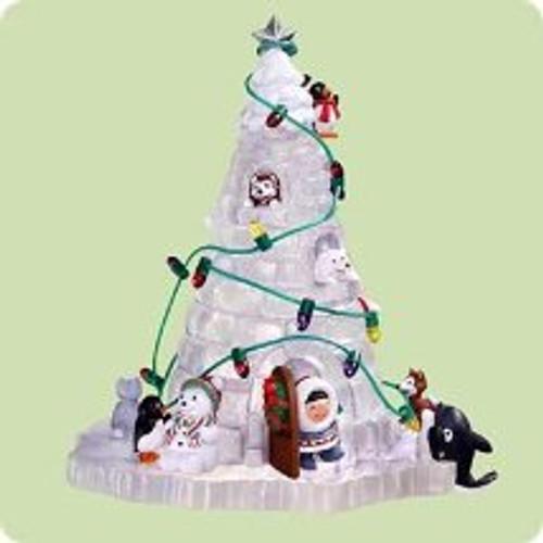 2004 Frosty Friends - Anniv - Winterfest Hallmark ornament