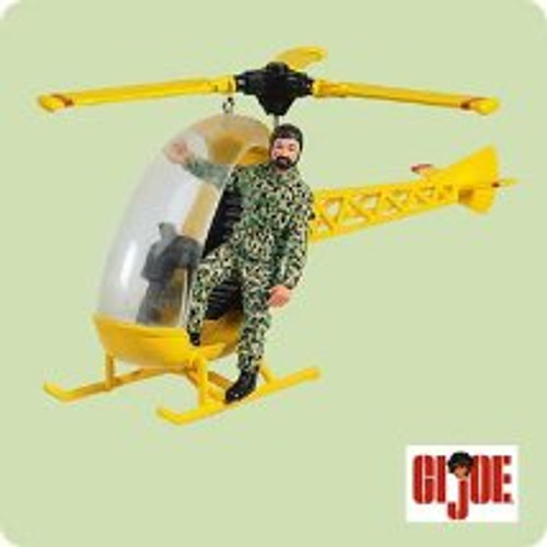 2004 GI Joe - Helicopter Hallmark ornament