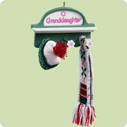 2004 Granddaughter Hallmark ornament