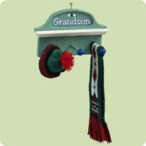 2004 Grandson Hallmark ornament