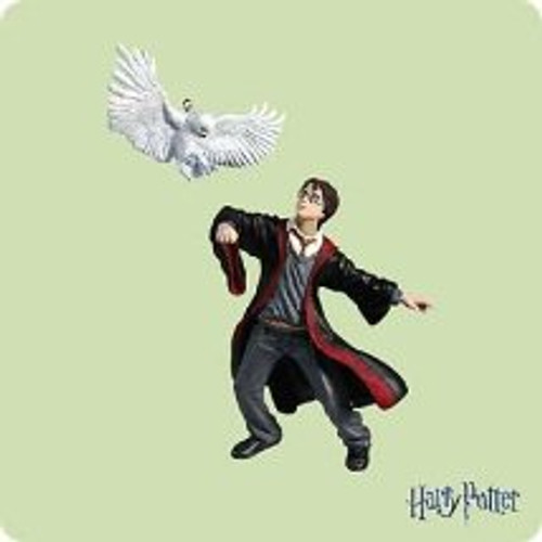 2004 Harry Potter And Hedwig Hallmark ornament