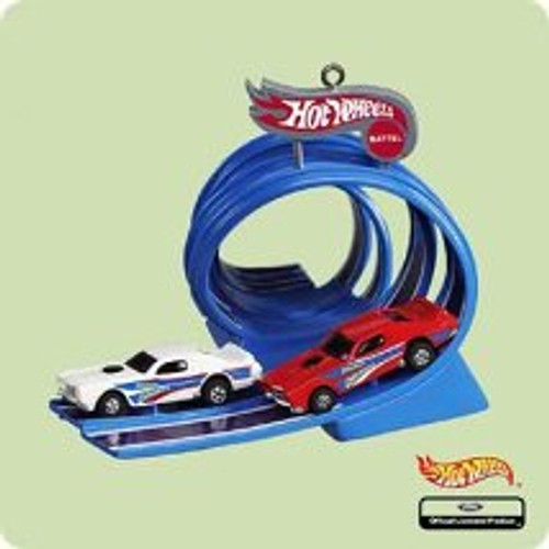 2004 Hot Wheels - Thrill Drivers Hallmark ornament