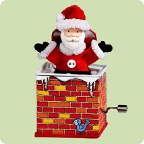 2004 Jack In The Box #2 - Santa Hallmark ornament
