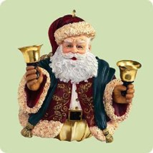2004 Jolly Old Kris Jingle Hallmark ornament
