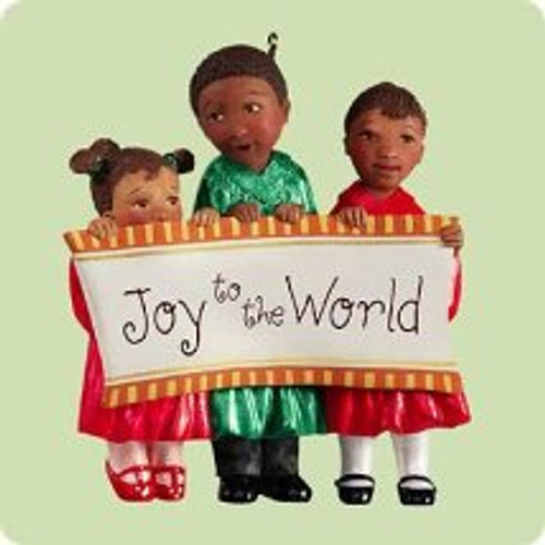 2004 Joyful Trio Hallmark ornament