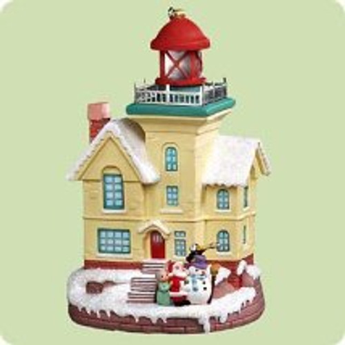2004 Lighthouse Greetings #8 Hallmark ornament