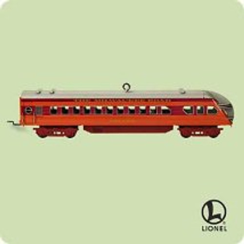 2004 Lionel - Hiawatha Observation Car Hallmark ornament