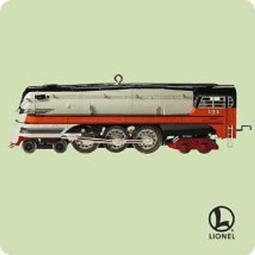 2004 Lionel #9 - 1939 Hiawatha Steam Hallmark ornament