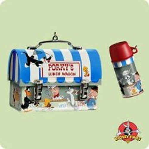 2004 LT - Porky's Lunchbox Hallmark ornament