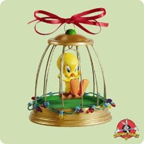 2004 LT - Tweety Deck The Halls - Music Hallmark ornament
