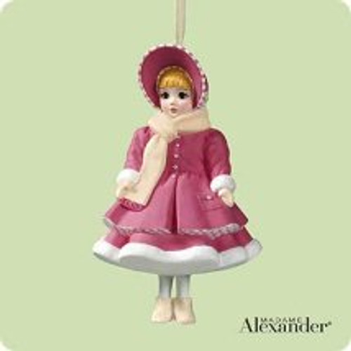 2004 Madame Alexander - Little Women #4F - Amy Hallmark ornament
