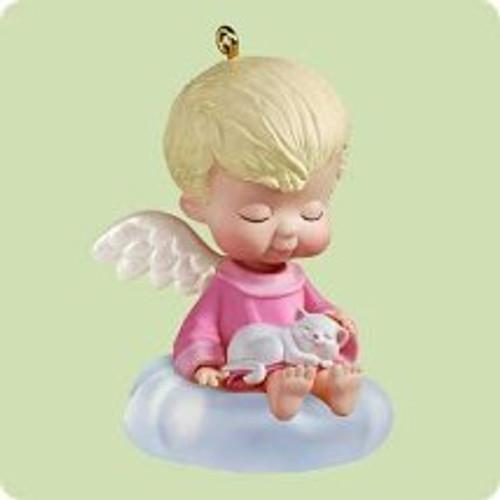 2004 Mary's Angels #17 - Sweet Pea Hallmark ornament