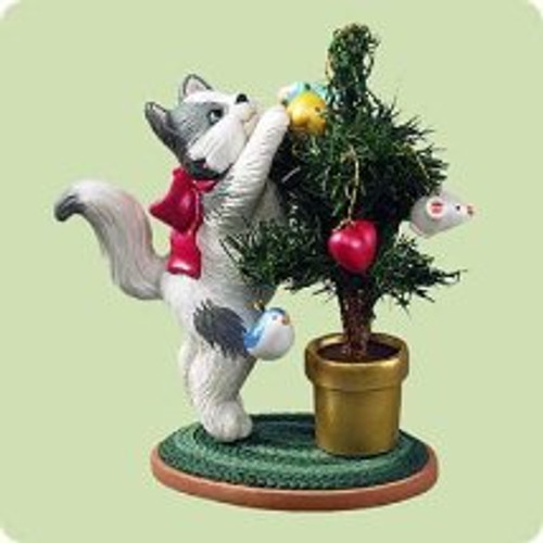 2004 Mischievous Kittens #6 Hallmark ornament