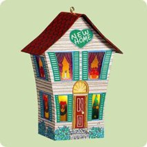 2004 New Home Hallmark ornament
