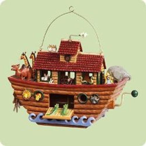 2004 Noah's Ark Hallmark ornament
