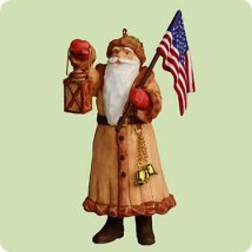 2004 North Pole Patriot Hallmark ornament