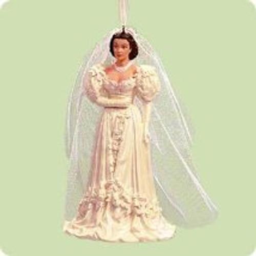 2004 Scarlett O'Hara - Bride Hallmark ornament