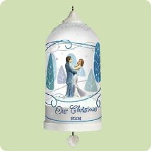 2004 Our Christmas - Bell Hallmark ornament