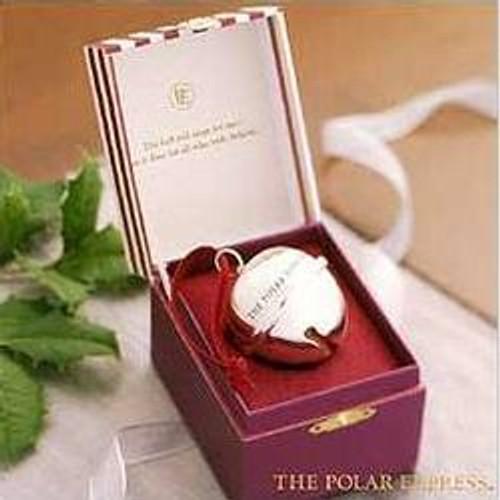 2004 Polar Express - Bell - Striped Box Hallmark ornament