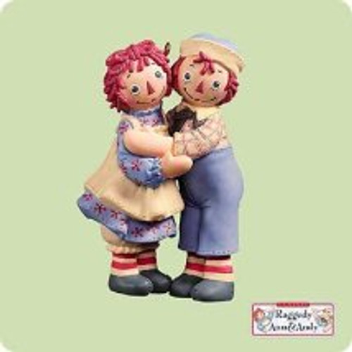 2004 Raggedy Ann and Andy Hallmark ornament