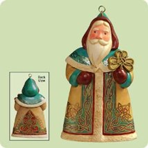 2004 Santas From Around The World - Ireland Hallmark ornament