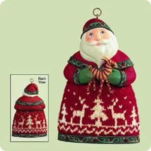 2004 Santas From Around The World - Norway Hallmark ornament