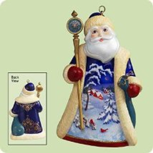 2004 Santas From Around The World - Russia Hallmark ornament