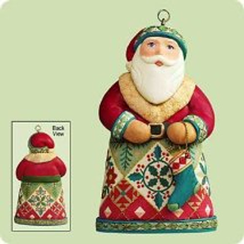 2004 Santas From Around The World - U.S. Hallmark ornament