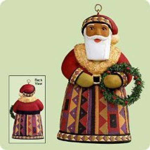 2004 Santas From Around The World - U.S. - AF Hallmark ornament