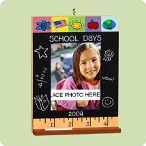 2004 School Days Hallmark ornament