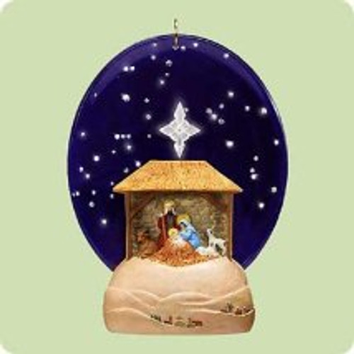 2004 Silent Night Hallmark ornament